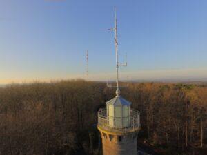 Drohnenaufnahme Antennen DB0KV